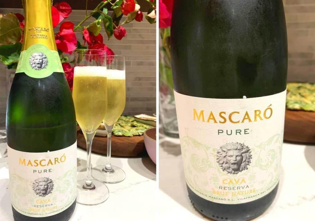 Mascaro Pure Cava Reserva wine bottle